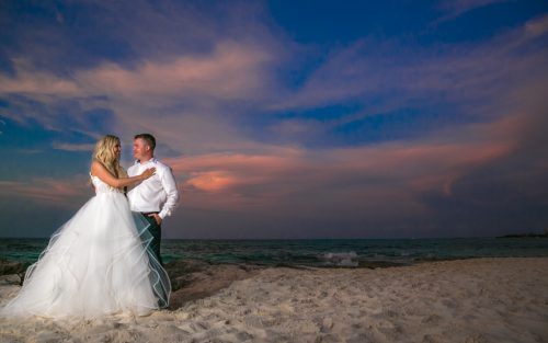 Iona Travis Hotel Riu Cancun Wedding 500x313 - Iona & Travis - Hotel Riu Cancun