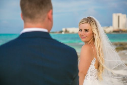 Iona Travis Hotel Riu Cancun Wedding 6 500x333 - Iona & Travis - Hotel Riu Cancun