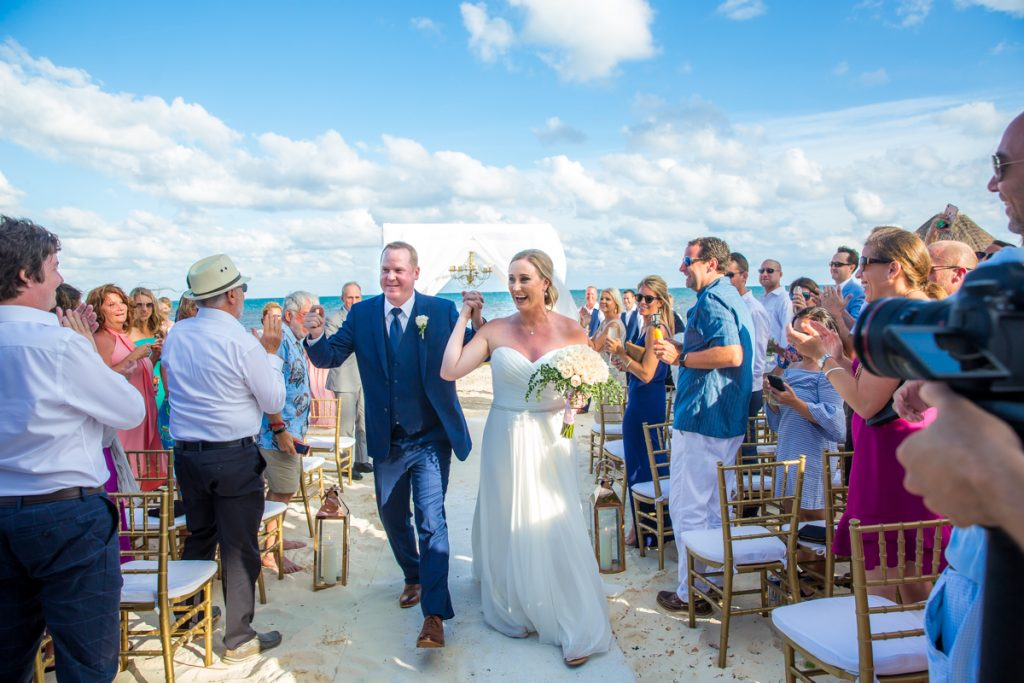 Stephaine Brian Dreams Riviera Cancun Wedding 16 1024x683 - The Ultimate List Of Best Wedding Resorts In Mexico