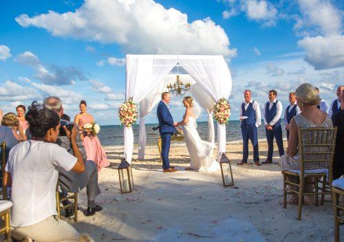 Stephaine Brian Dreams Riviera Cancun Wedding 19 500x352 - Stephanie & Brian - Dreams Riviera Cancun