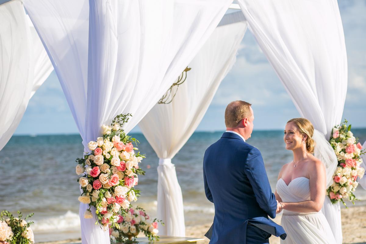 Stephaine Brian Dreams Riviera Cancun Wedding 20 - Stephanie & Brian - Dreams Riviera Cancun