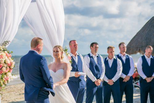 Stephaine Brian Dreams Riviera Cancun Wedding 21 500x333 - Stephanie & Brian - Dreams Riviera Cancun