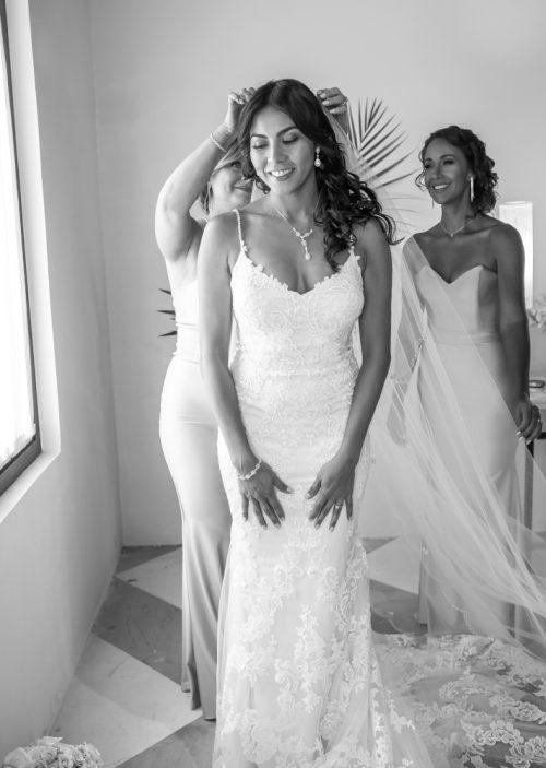 Lisette Nick Villa la Joya Playa del Carmen Wedding 11 500x703 - Lisette & Nick - Villa La Joya