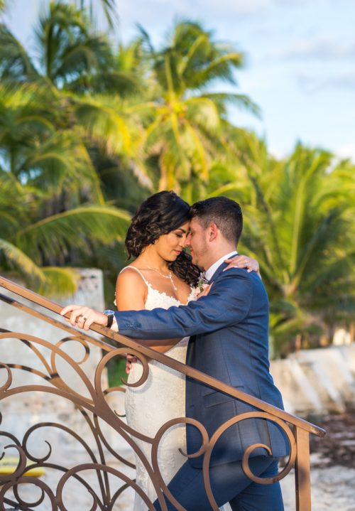 Lisette Nick Villa la Joya Playa del Carmen Wedding 4 500x719 - Lisette & Nick - Villa La Joya