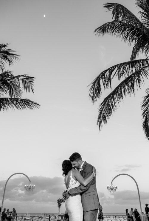 Lisette Nick Villa la Joya Playa del Carmen Wedding 500x739 - Lisette & Nick - Villa La Joya