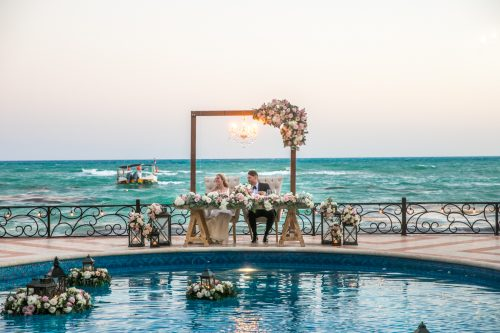 Nicole James Villa la Joya Playa del Carmen Wedding 500x333 - Nicole & James - Villa La Joya