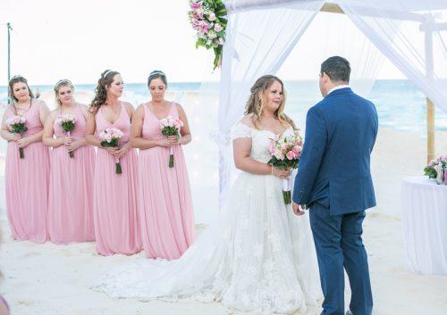 Chelsea Luis GR Caribe Deluxe Cancun Wedding.  14 500x353 - Chelsea & Luis - GR Caribe Deluxe