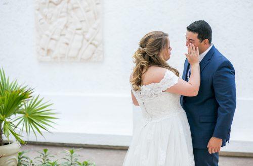 Chelsea Luis GR Caribe Deluxe Cancun Wedding.  20 500x329 - Chelsea & Luis - GR Caribe Deluxe
