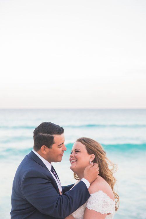 Chelsea Luis GR Caribe Deluxe Cancun Wedding  6 500x750 - Chelsea & Luis - GR Caribe Deluxe