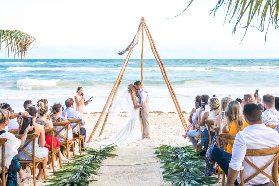 Kim Lev Akiin Beach Club Tulum Wedding 14 1 900x600 - Playa del Carmen Wedding Photography, Riviera Maya Wedding Photographer