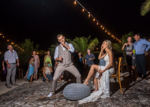 Kim Lev Akiin Beach Club Tulum Wedding 15 500x356 - Kim & Lev - Ak'iin Beach Club Tulum