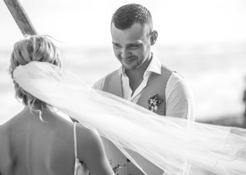 Kim Lev Akiin Beach Club Tulum Wedding 16 500x355 - Kim & Lev - Ak'iin Beach Club Tulum