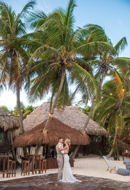 Kim Lev Akiin Beach Club Tulum Wedding 2 500x734 - Kim & Lev - Ak'iin Beach Club Tulum
