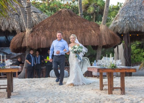 Kim Lev Akiin Beach Club Tulum Wedding 20 500x357 - Kim & Lev - Ak'iin Beach Club Tulum