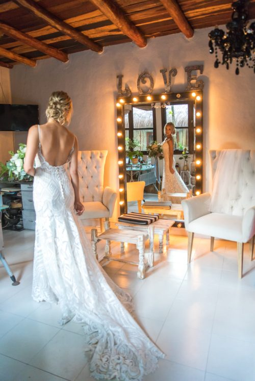 Kim Lev Akiin Beach Club Tulum Wedding 5 500x747 - Kim & Lev - Ak'iin Beach Club Tulum