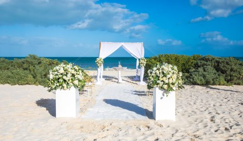 Loulia Dan Dreams Playa Mujeres Cancun Wedding 18 500x291 - Ioulia & Dan - Dreams Playa Mujeres