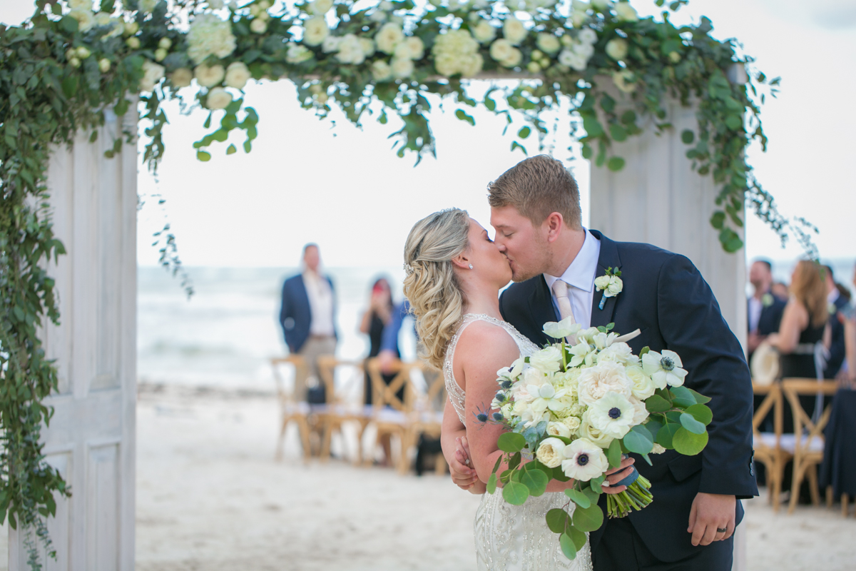 Nadine Ryon Grand Coral Beach Club Playa del Carmen Wedding 10 - Nadine & Ryan - Grand Coral Beach Club