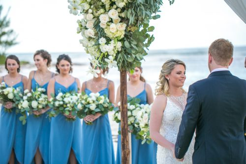 Nadine Ryon Grand Coral Beach Club Playa del Carmen Wedding 11 500x333 - Nadine & Ryan - Grand Coral Beach Club