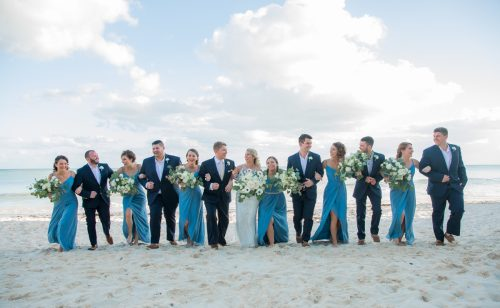 Nadine Ryon Grand Coral Beach Club Playa del Carmen Wedding 6 500x308 - Nadine & Ryan - Grand Coral Beach Club