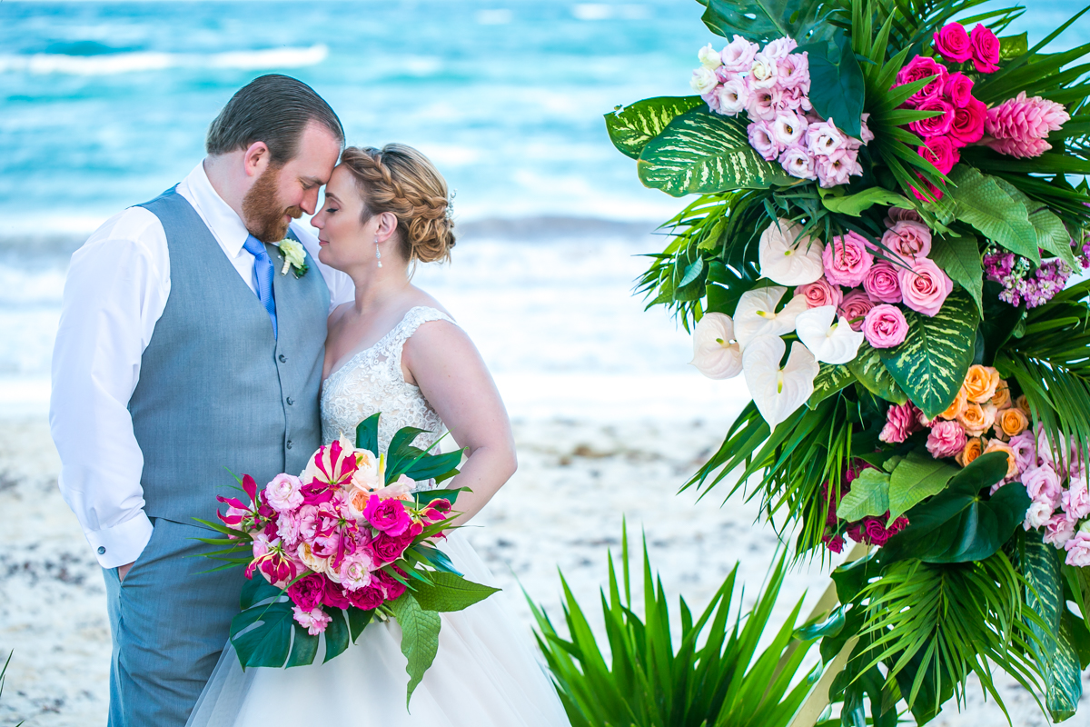 Natalie Matt Akiin Beach Club Tulum Wedding 10 - Natalie & Matt - Ak'iin Beach Club