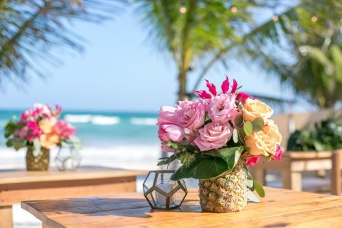 Natalie Matt Akiin Beach Club Tulum Wedding 25 500x333 - Natalie & Matt - Ak'iin Beach Club
