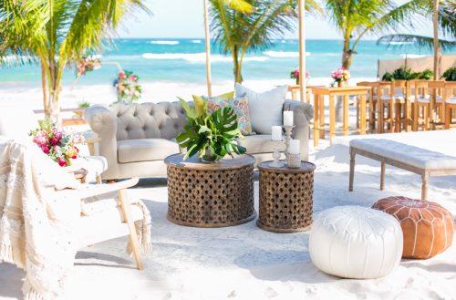 Natalie Matt Akiin Beach Club Tulum Wedding 27 500x329 - Natalie & Matt - Ak'iin Beach Club