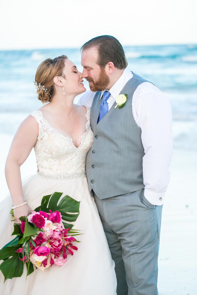 Natalie Matt Akiin Beach Club Tulum Wedding 3 - Natalie & Matt - Ak'iin Beach Club