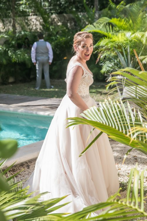 Natalie Matt Akiin Beach Club Tulum Wedding 6 500x750 - Natalie & Matt - Ak'iin Beach Club