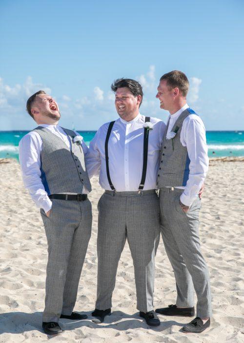 Georgia Josuha Hotel Riu Yucatan Playa del Carmen Wedding 20 500x702 - Georgia & Joshua - Hotel Riu Yucatan