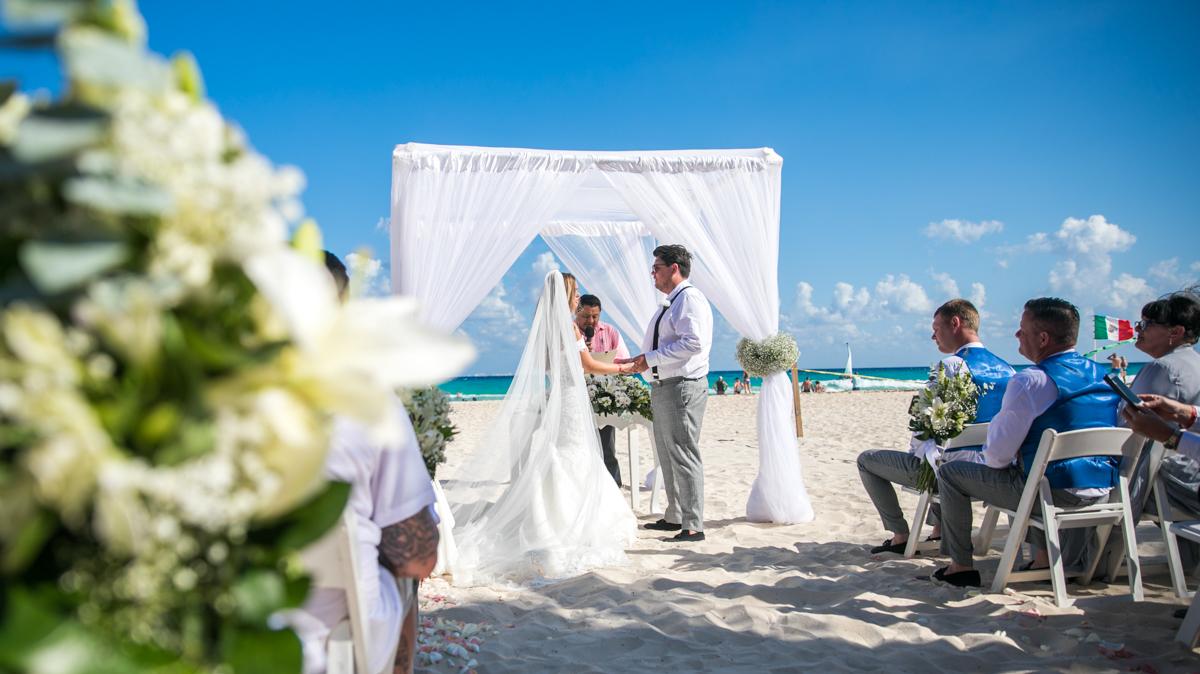 Georgia Josuha Hotel Riu Yucatan Playa del Carmen Wedding 6 - Georgia & Joshua - Hotel Riu Yucatan
