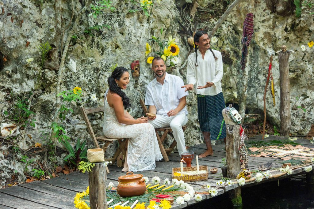 Erik Jess xo tihka Eco Park Riviera Maya Vow Renewal 5 1024x683 - What's Included in Playa del Carmen Vow Renewal Packages?