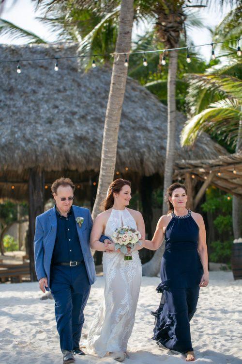 Alex Dylan Akiin Beach Club Tulum Wedding 10 1 500x750 - Alex & Dylan - Ak'iin Beach Club