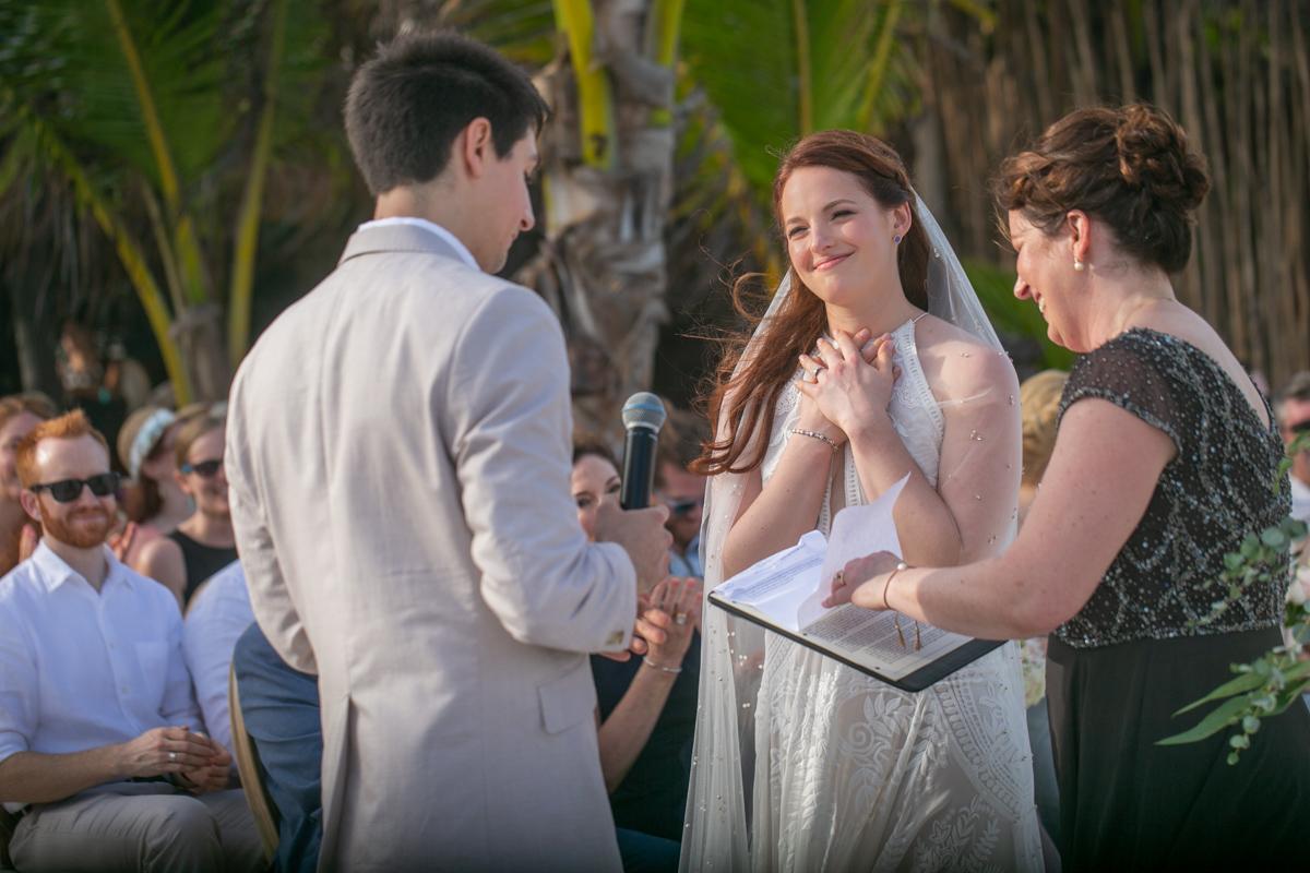 Alex Dylan Akiin Beach Club Tulum Wedding 11 - Alex & Dylan - Ak'iin Beach Club
