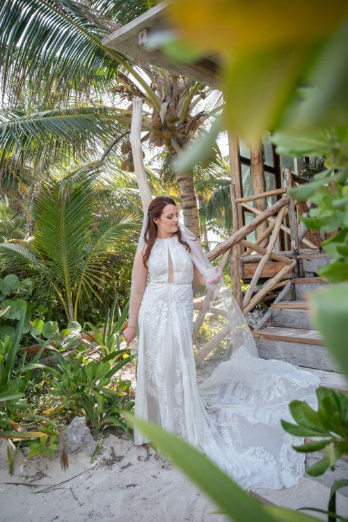 Alex Dylan Akiin Beach Club Tulum Wedding 12 1 500x750 - Alex & Dylan - Ak'iin Beach Club