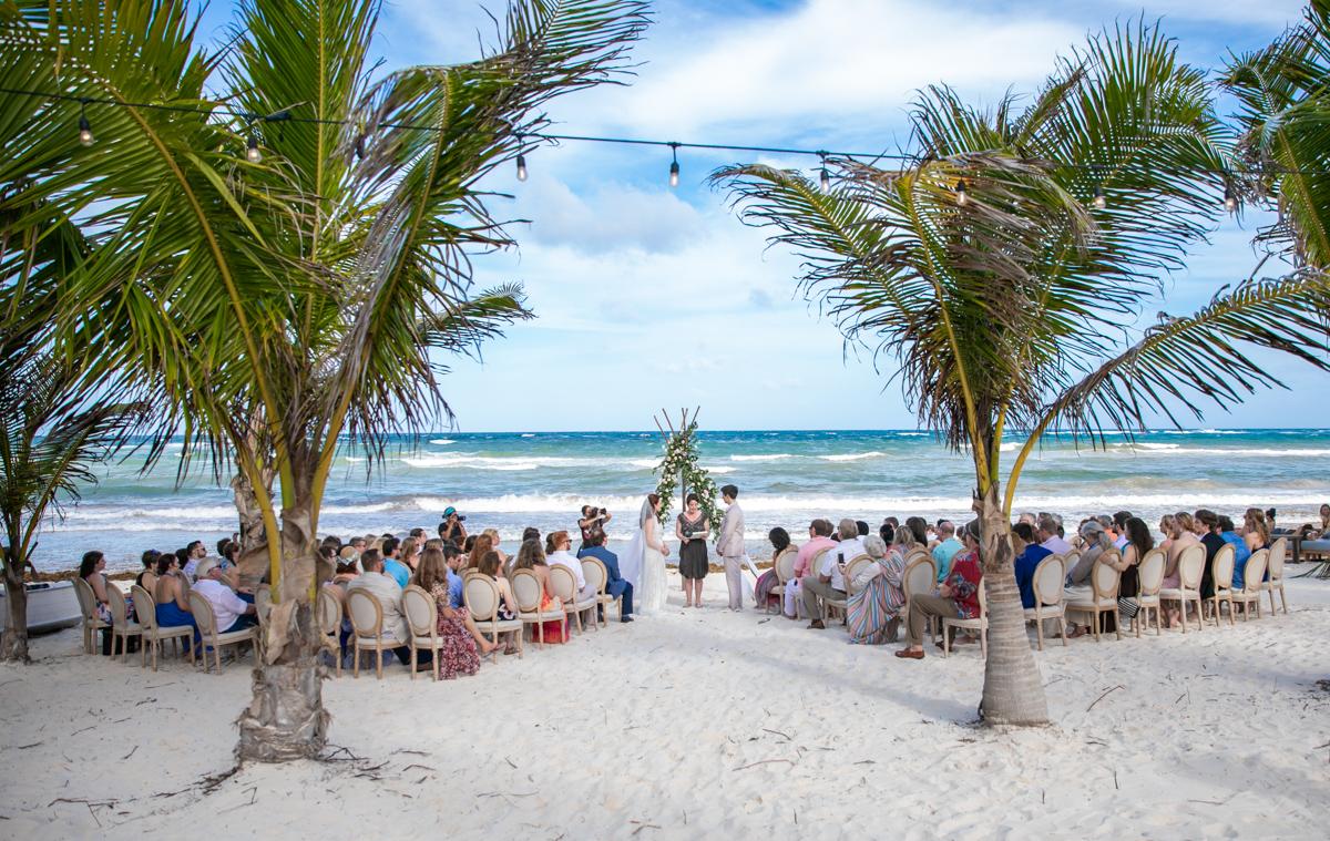 Alex Dylan Akiin Beach Club Tulum Wedding 14 - Alex & Dylan - Ak'iin Beach Club