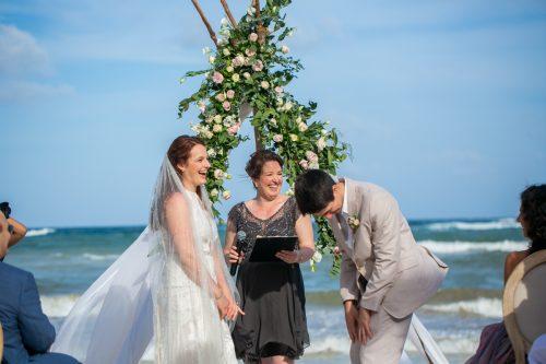 Alex Dylan Akiin Beach Club Tulum Wedding 15 500x333 - Alex & Dylan - Ak'iin Beach Club