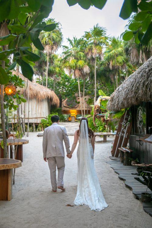 Alex Dylan Akiin Beach Club Tulum Wedding 2 1 500x750 - Alex & Dylan - Ak'iin Beach Club