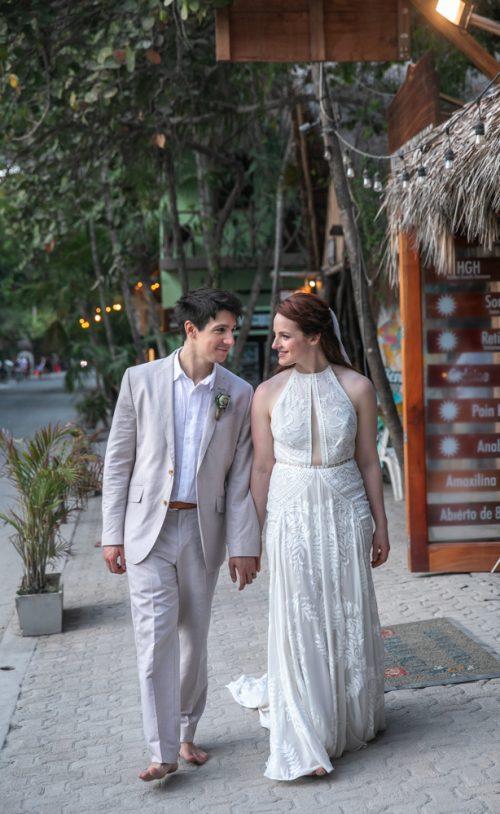 Alex Dylan Akiin Beach Club Tulum Wedding 3 1 500x814 - Alex & Dylan - Ak'iin Beach Club