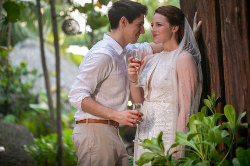 Alex Dylan Akiin Beach Club Tulum Wedding 4 500x333 - Alex & Dylan - Ak'iin Beach Club
