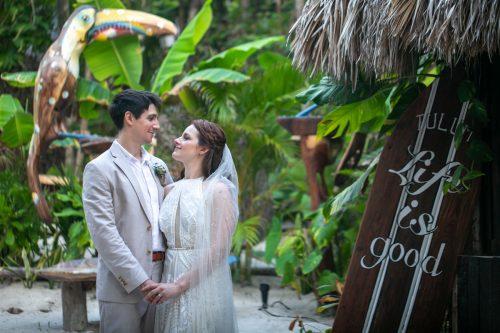 Alex Dylan Akiin Beach Club Tulum Wedding 5 500x333 - Alex & Dylan - Ak'iin Beach Club