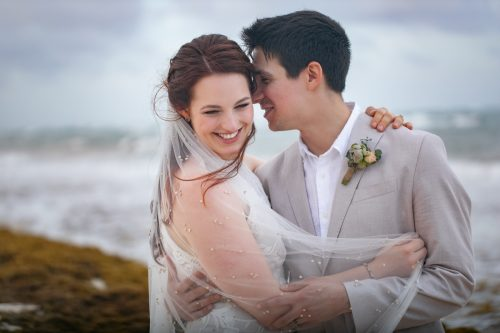 Alex Dylan Akiin Beach Club Tulum Wedding 8 500x333 - Alex & Dylan - Ak'iin Beach Club