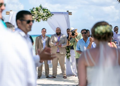 Christine Kam Sandos Caracol Eco Resort Playa del Carmen Wedding 15 500x357 - Christine & Kam - Sandos Caracol Ecoresort