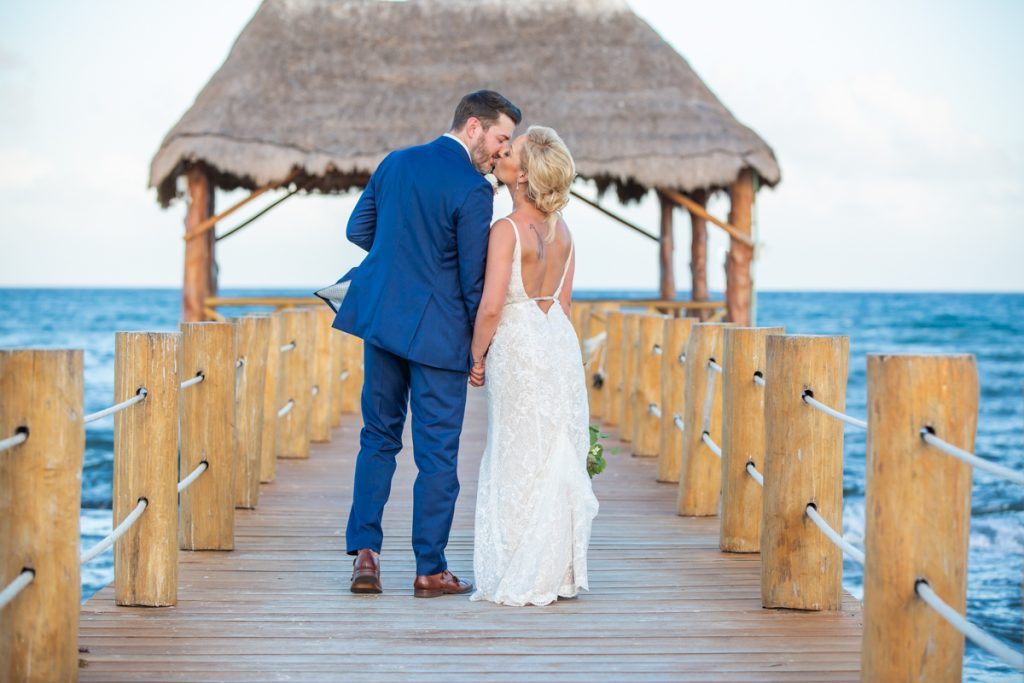 Jessica Michael The Azul Fives Beach Resort Playa del Carmen Wedding 6 1 1024x683 - Getting Married in Riviera Maya in June: The Pros and Cons