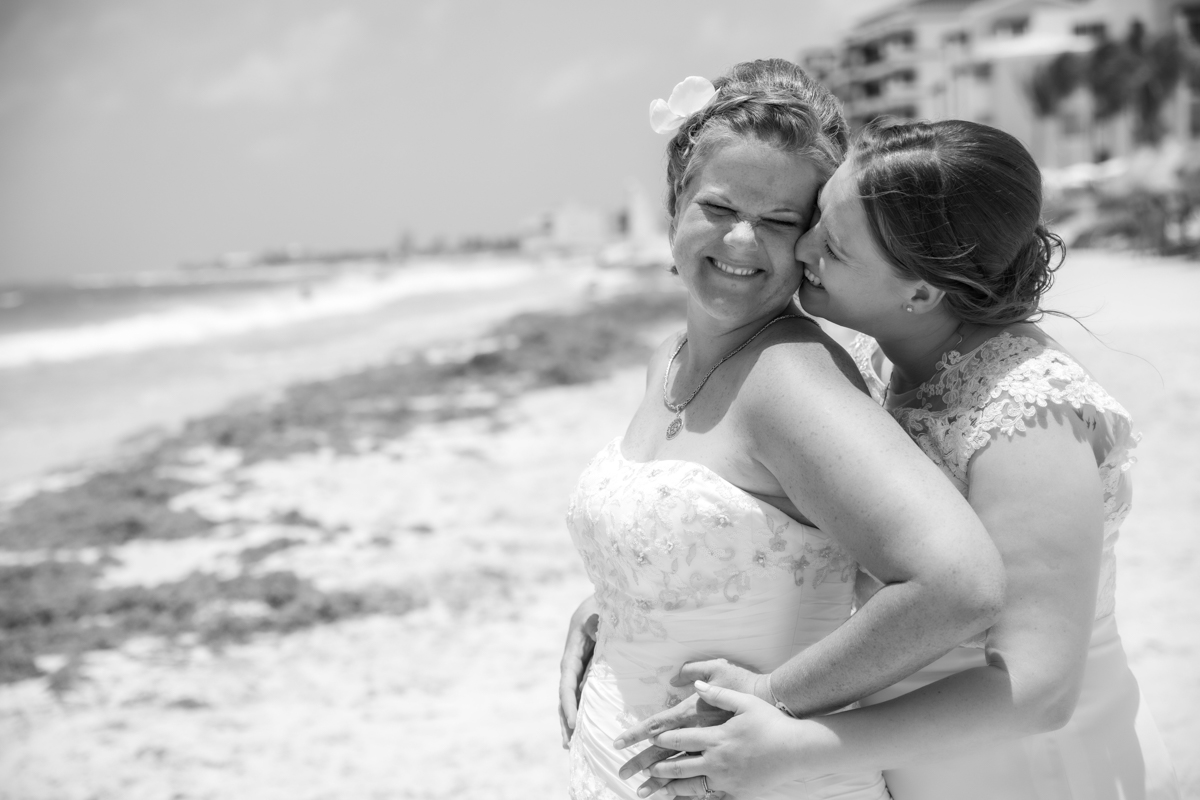 Allison Krissie Now Jade Riviera Cancun Wedding 13 - Allison & Krissie - Now Jade