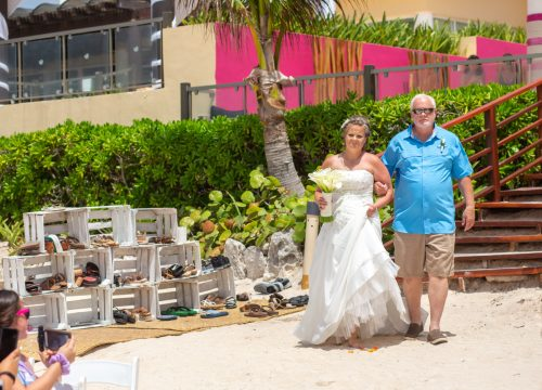 Allison Krissie Now Jade Riviera Cancun Wedding 3 500x360 - Allison & Krissie - Now Jade