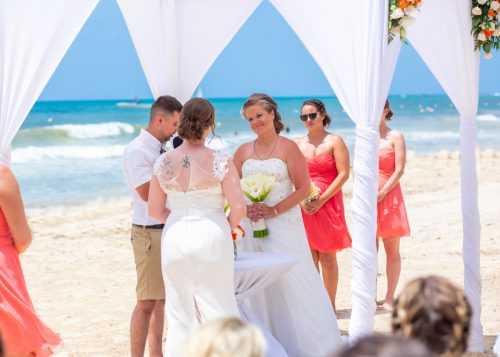 Allison Krissie Now Jade Riviera Cancun Wedding 5 500x357 - Allison & Krissie - Now Jade