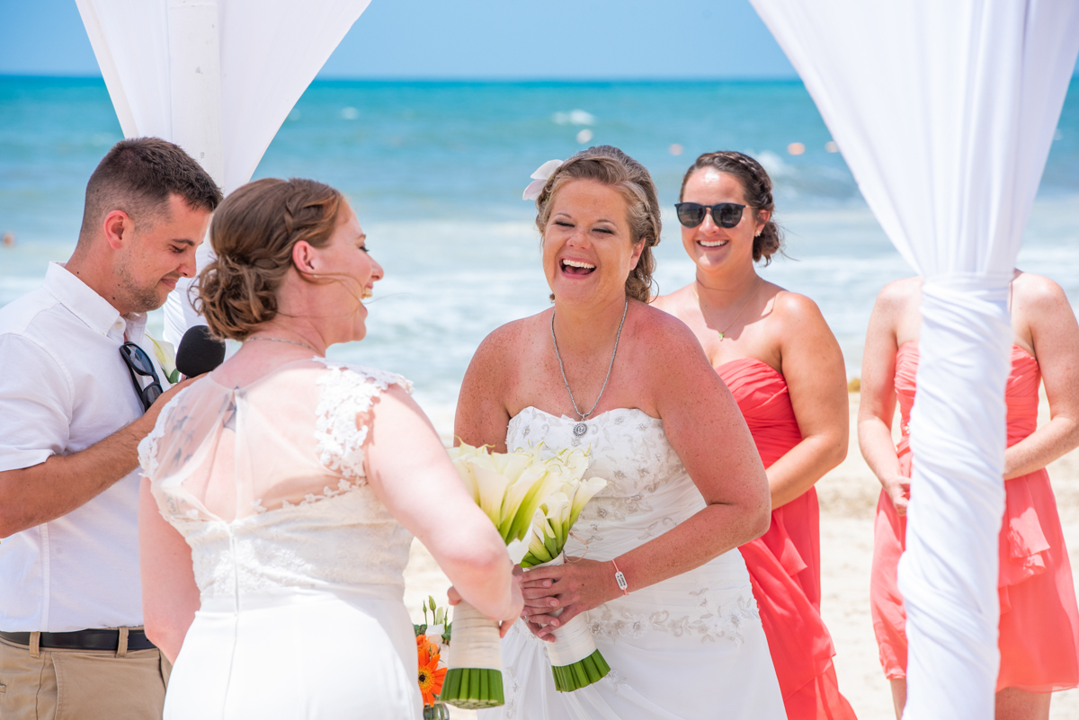 Allison Krissie Now Jade Riviera Cancun Wedding 6 - Allison & Krissie - Now Jade