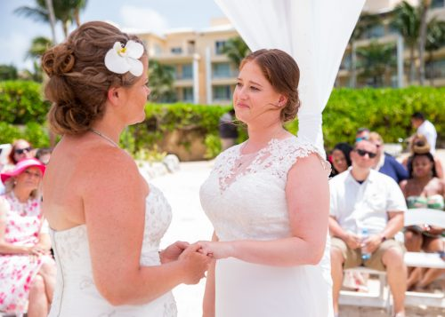 Allison Krissie Now Jade Riviera Cancun Wedding 8 500x357 - Allison & Krissie - Now Jade