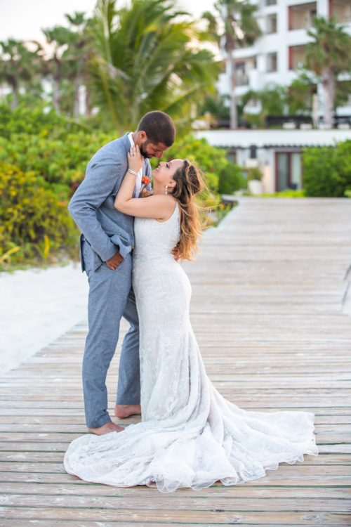 Rebecca James Secrets Playa Mujeres Wedding 11 500x750 - Rebecca & James - Secrets Playa Mujeres