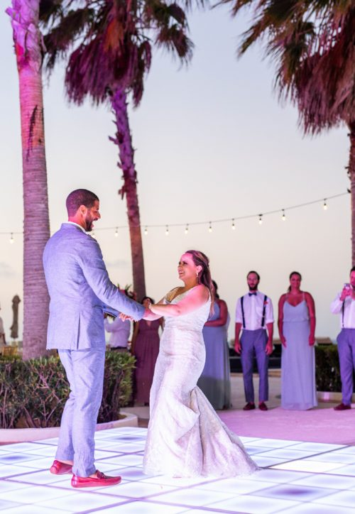 Rebecca James Secrets Playa Mujeres Wedding 14 500x724 - Rebecca & James - Secrets Playa Mujeres